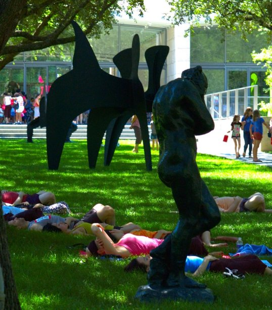 Calder, Rodin, and Yoga