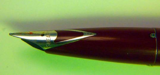 Sheaffer Inlaid Nib