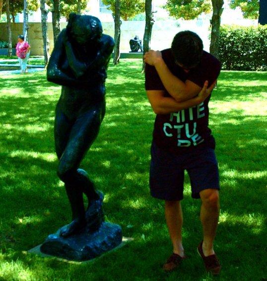 Eve, by Rodin