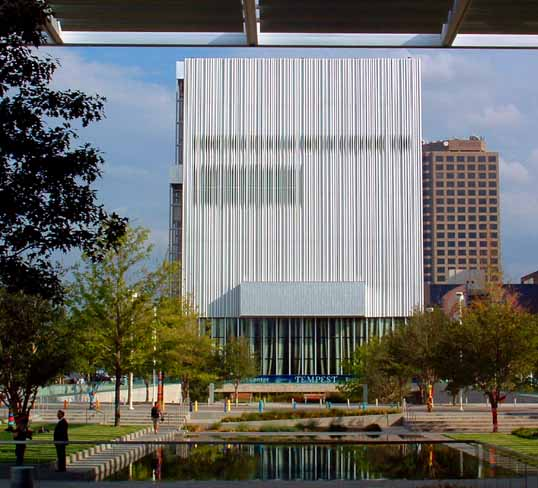 The Wyly Theater.