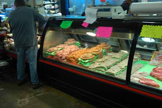 Meat Case - Italian Sausage and more
