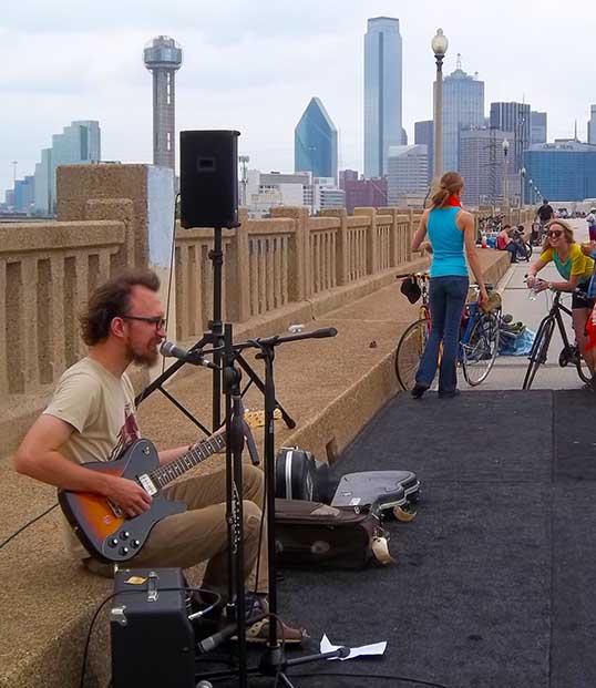 Music at Ciclovia Dallas