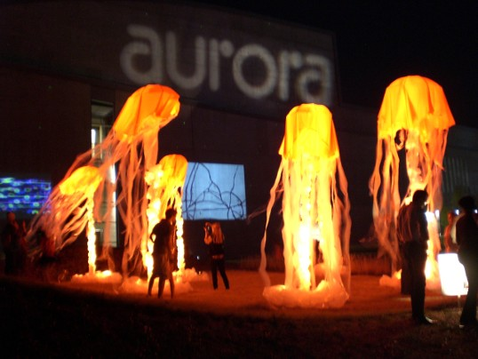 Red Jellyfish, from the Aurora Preview