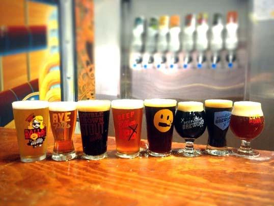 Deep Ellum Brewing Company's Lineup