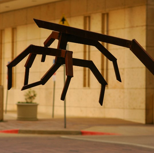 The Mystery Sculpture, welded iron.