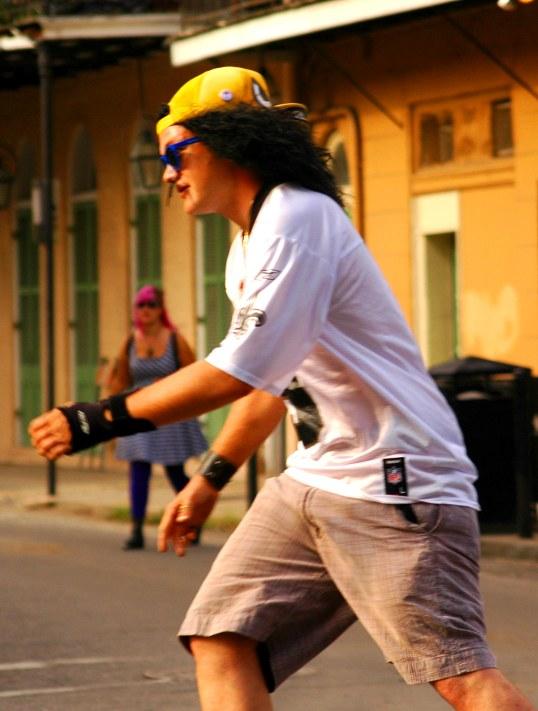 Skater, French Quarter, New Orleans