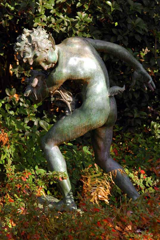 Youn Faun, by Brenda Putnam, Dallas Arboretum, A Woman's Garden