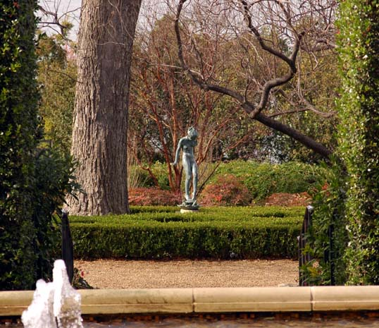 View from The Sunset Garden, Dallas Arboretum