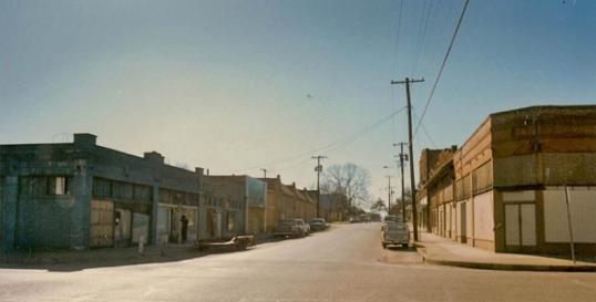 Bishop Arts in 1985 -photo by Jim Lake Cos.