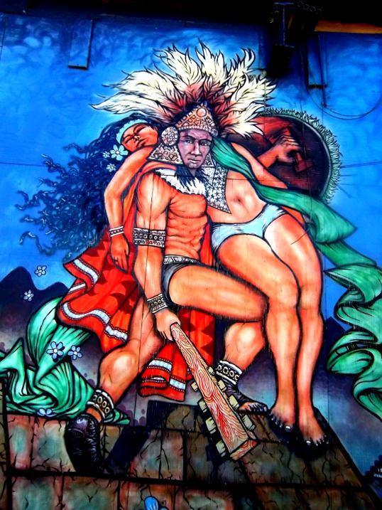 A Well Muscled Aztec Warrior Bill Chance