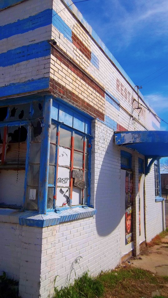 The building that would become The Cold Beer Company, in March of 2013
