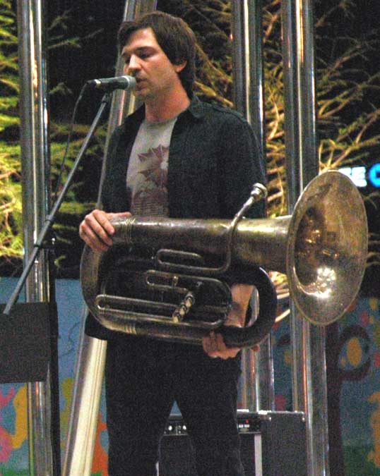 Lead Singer with Euphonium