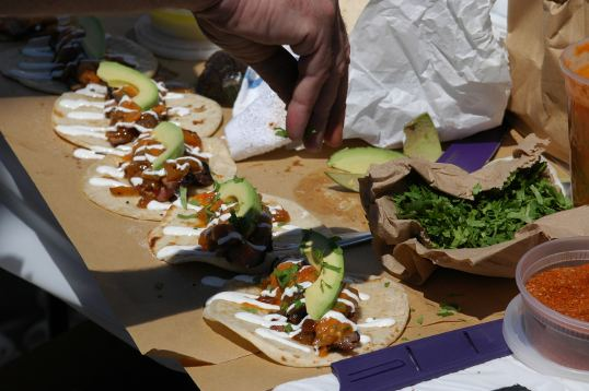 Professional competition Tacos