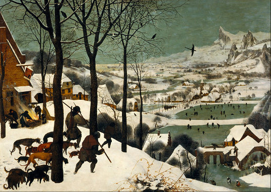 Hunters in the Snow, by Bruegel
