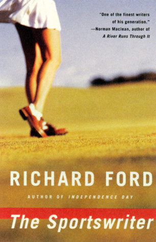 The cover of Richard Ford's novel - The Sportswriter.
