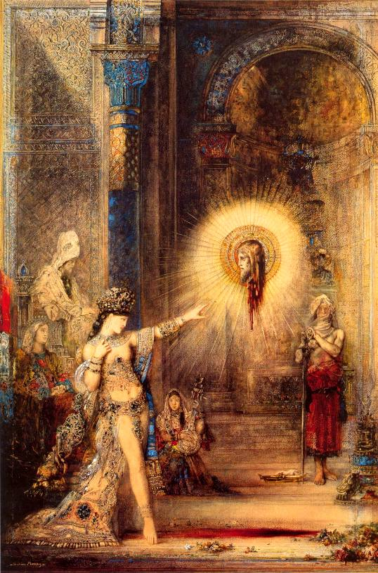 The Apparition, by Gustave Moreau