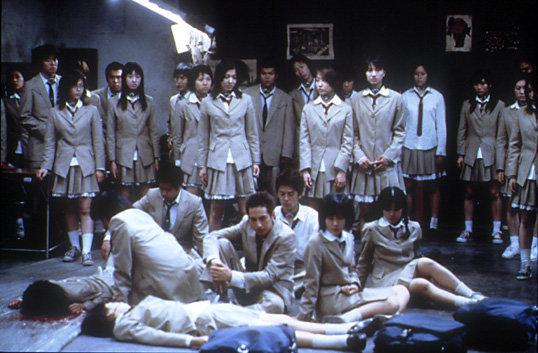 The class from Battle Royale