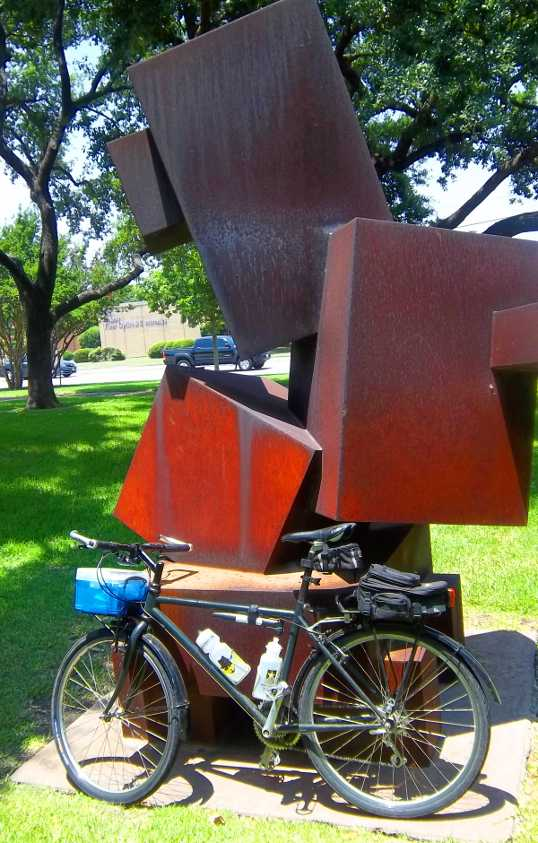 Sculpture and Commuter Bike. All Steel.