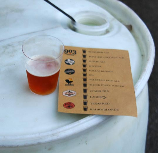 Tasting Card - six breweries, twelve beers
