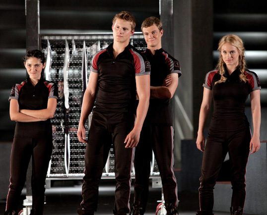 Model-like appearance of the contestants from The Hunger Games