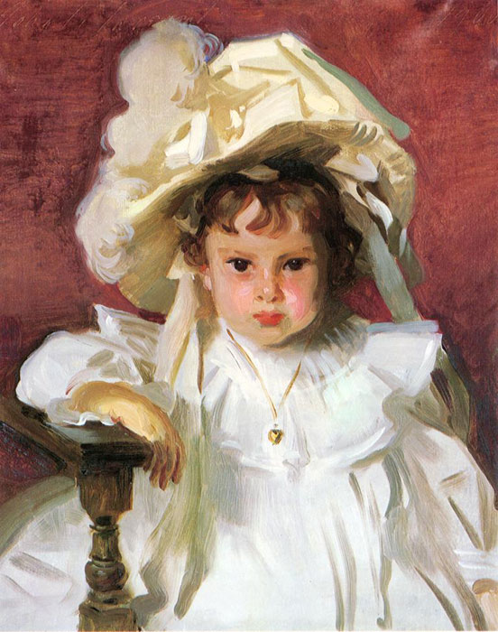 Dorothy, by John Singer Sargent, in the Dallas Museum of Art.