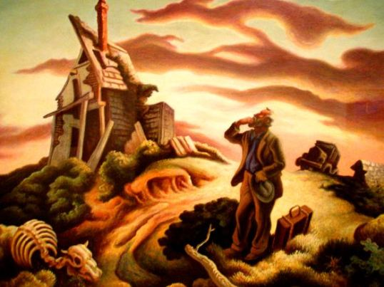 Prodigal Son, Thomas Hart Benton, Dallas Museum of Art