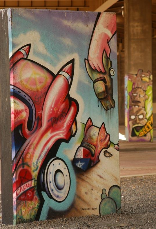 Dallas Art Park, Deep Ellum, Dallas, Texas
