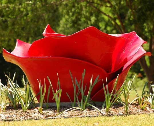 Tar Roses, Dennis Oppenheim, Frisco, Texas