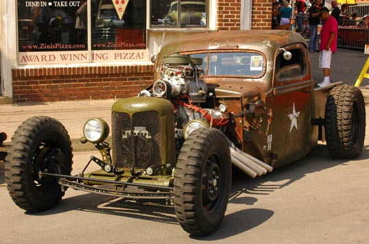Rat Rod - Car Show, Deep Ellum, Dallas, Texas