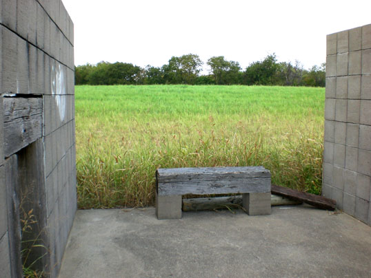 A Place to Gather - by Linnea Glatt. The little benches are still there - it's a peaceful spot.