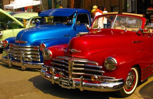 Beautiful Cars, Deep Ellum, Dallas, Texas (click to enlarge)