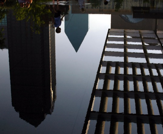 Reflecting Pool, Arts District, Dallas, Texas (Click To Enlarge)