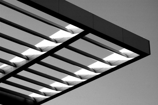 Awning stretching out from the Opera House, Arts District, Dallas, Texas (Click To Enlarge)
