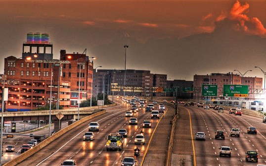 Woodall Rogers Freeway (click to enlarge)