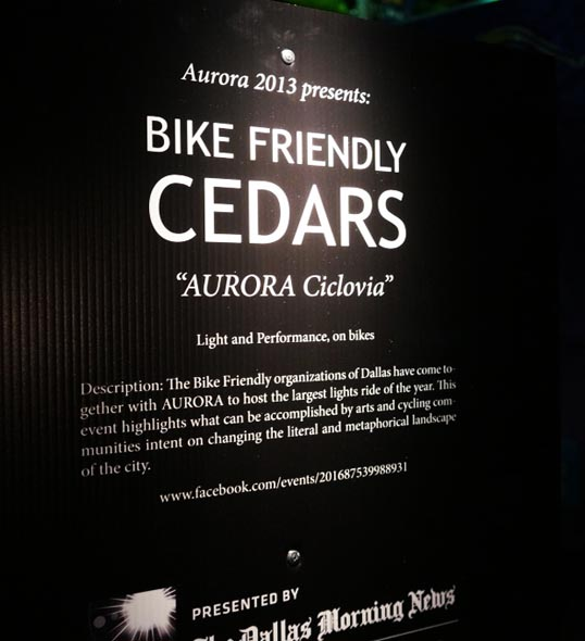 Bike Friendly Cedars and Aurora Ciclovia