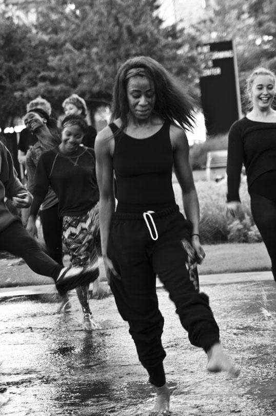 Dancers, Arts District, Dallas