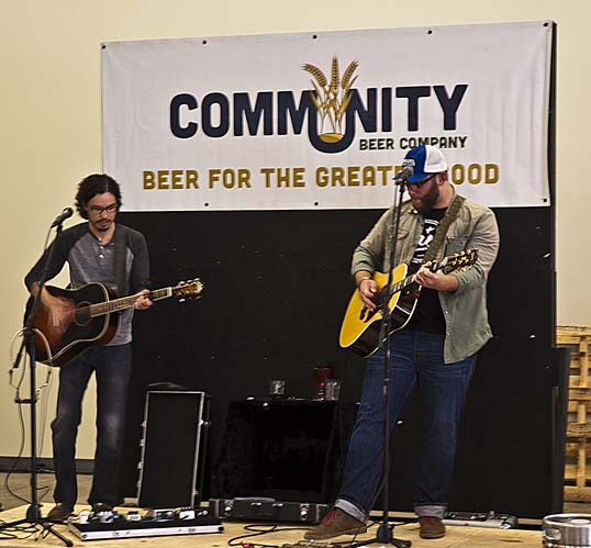 Live Music at Community Beer