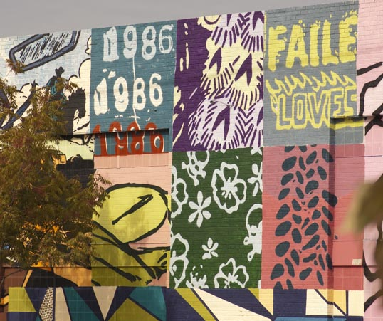 FAILE uses the year 1986 in their work - the year of the Challenger Disaster.