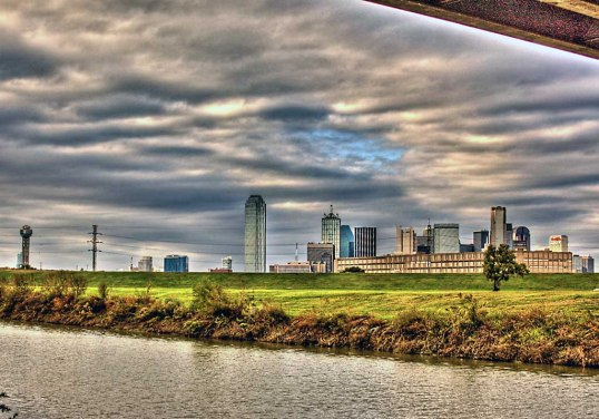 Trinity River, Dallas, Texas (click to enlarge)