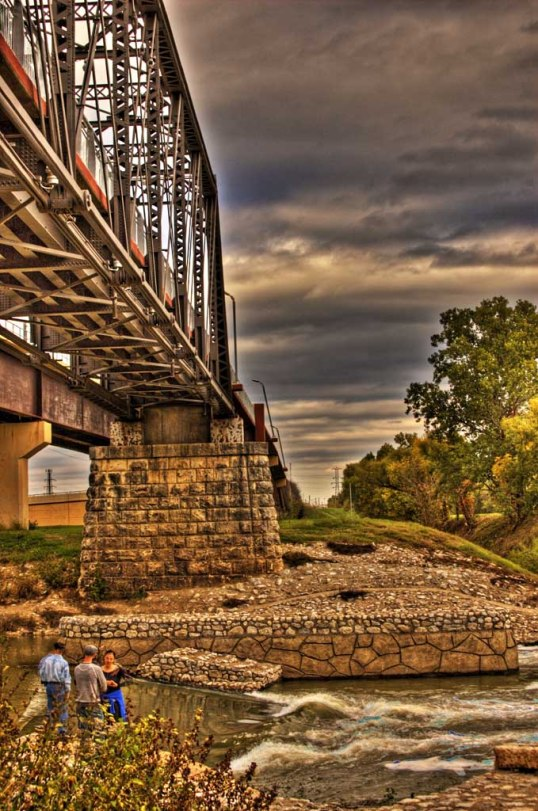 Santa Fe Trestle, Dallas, Texas. Trinity River and the Dallas Wave. (click to enlarge)