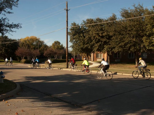 Bike Friendly Richardson, Black Friday Ride (click to enlarge)