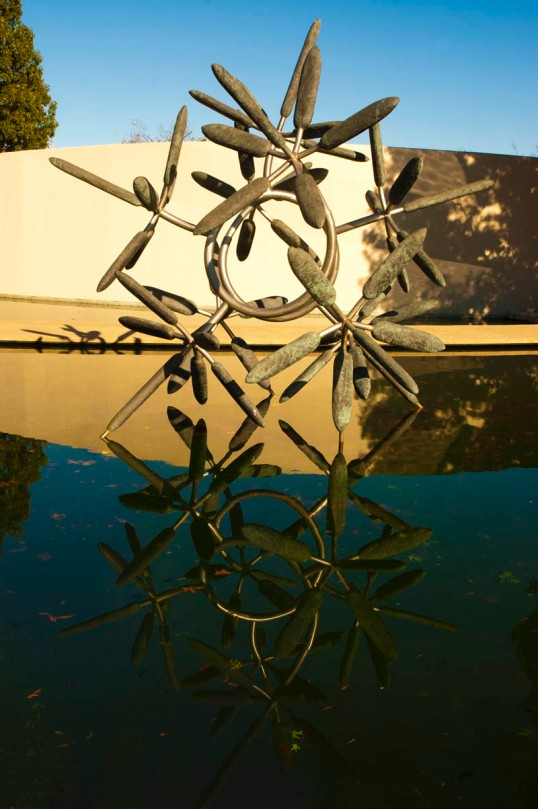 James Surls, Star Flower (click to enlarge)