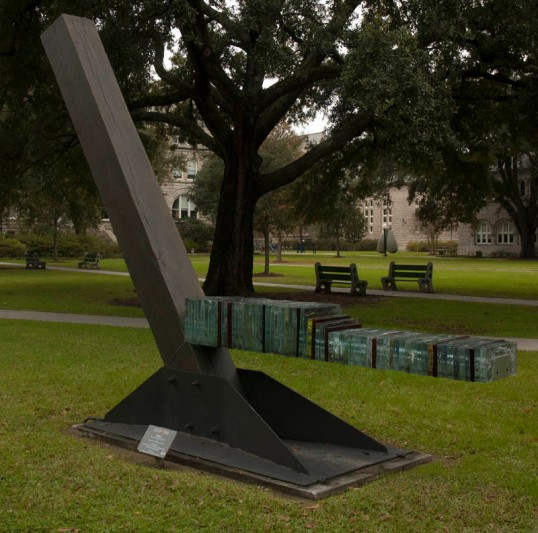 Timber, by Gene Koss, Tulane University, New Orleans, Louisiana (click to enlarge)