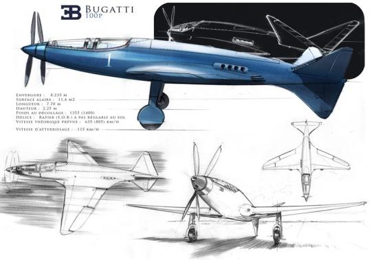 Buggatti 100P (click to enlarge)
