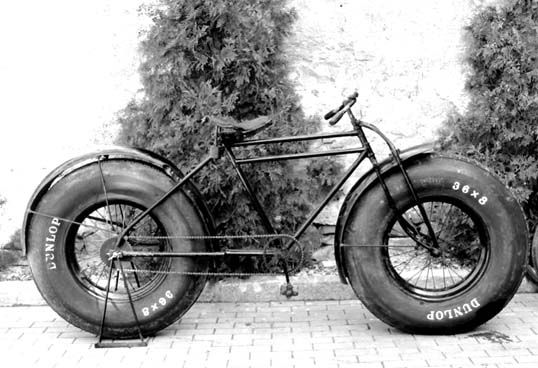 I like some of the new Fat Bike designs - but this is a little much... maybe a lot much.