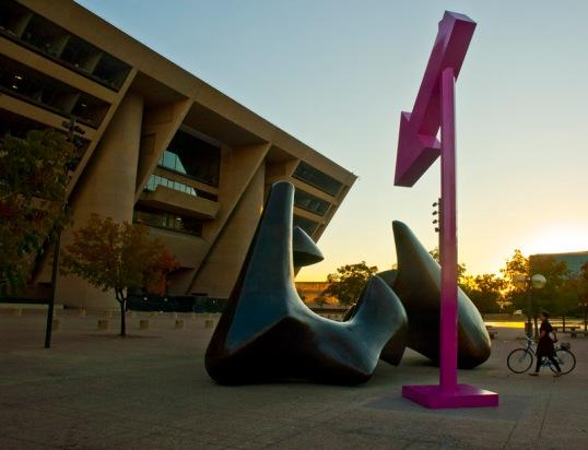 Rachel Harrison Moore to the point Dallas City Hall, Dallas, Texas