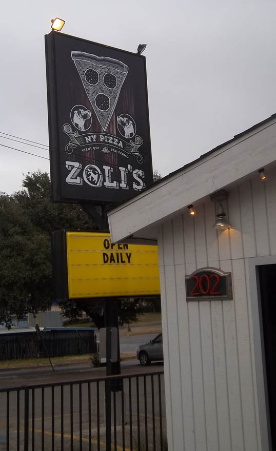 Zoli's, Dallas, Texas