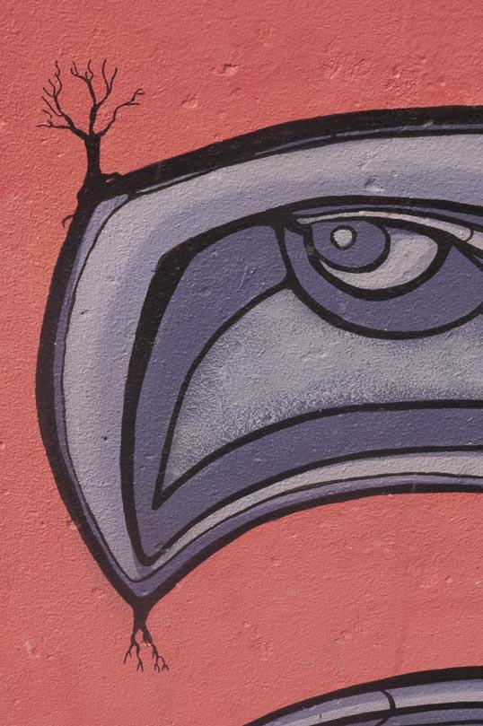 Mural in Deep Ellum Art Park, Dallas, Texas