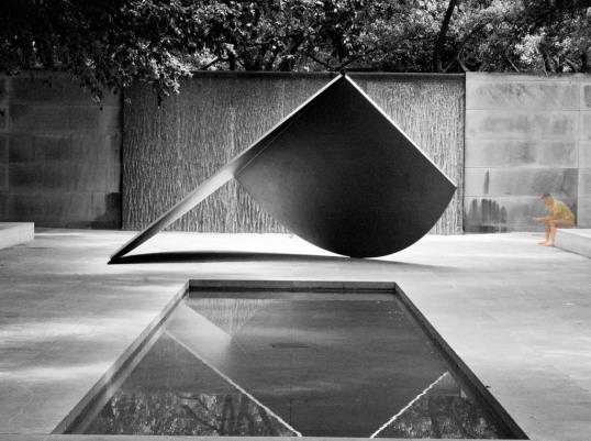 Dallas Museum of Art, Dallas, Texas Untitled, Ellsworth Kelly (click to enlarge)