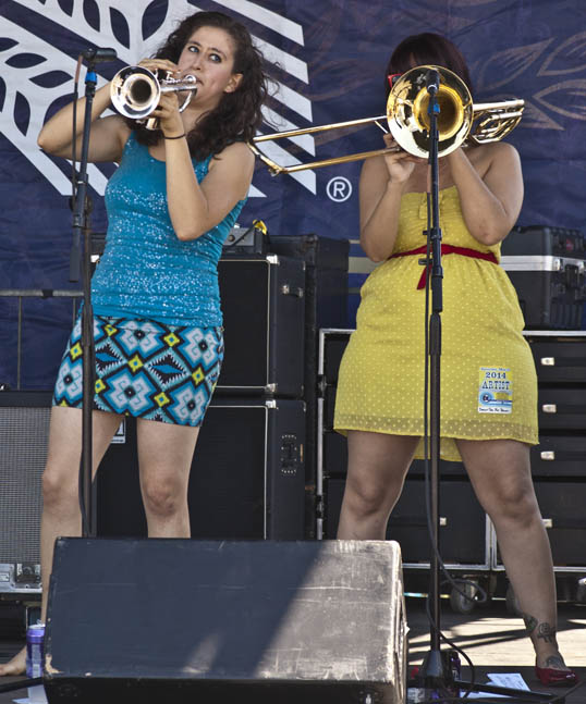 Brass Section Daria & The Hip Drops